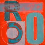 ROO  Acrylic on canvas  50 x 50 cm