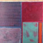 Tablet  Acrylic on canvas  150 x 150 cm