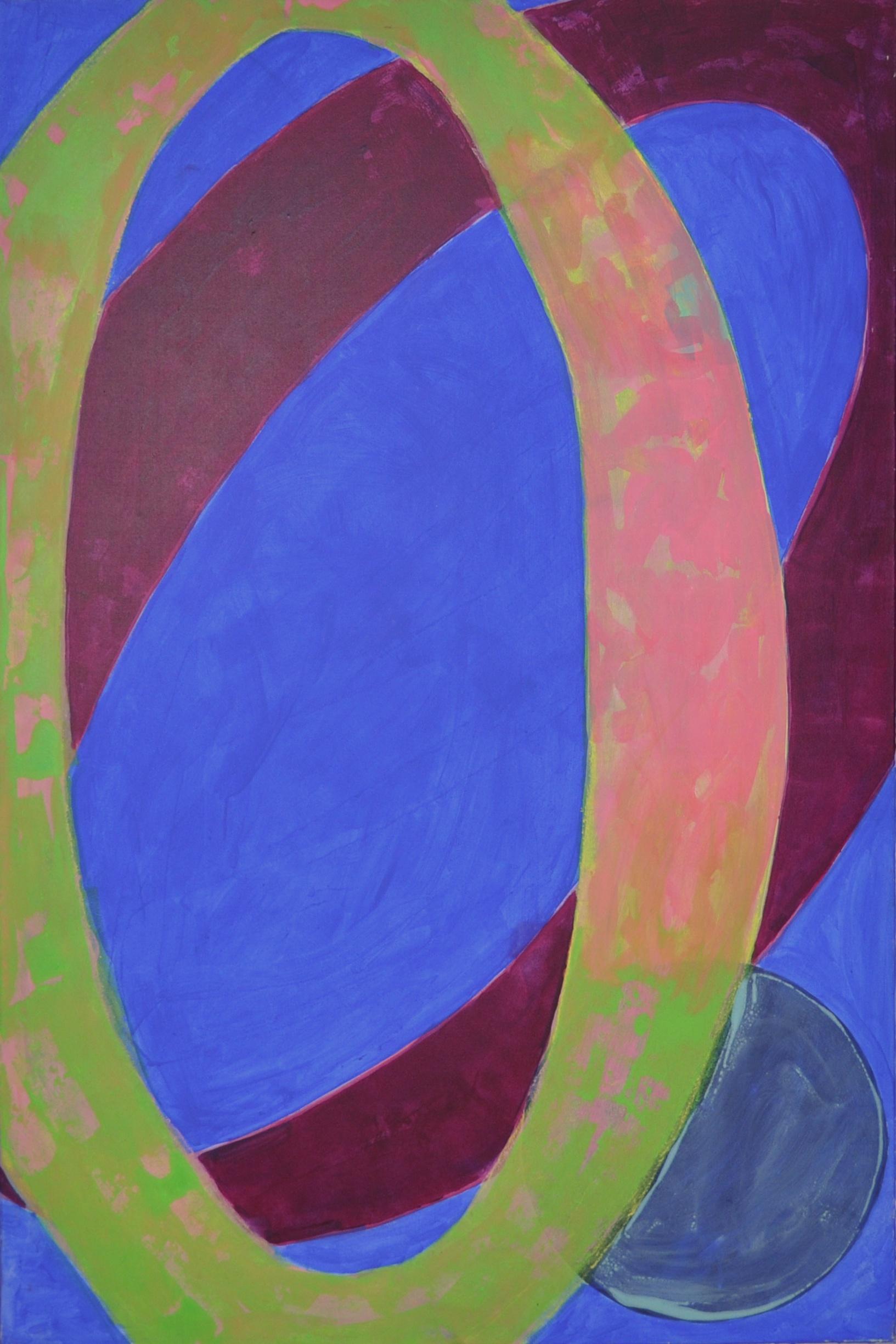 Pour Acrylic on canvas 150 x 100 cm