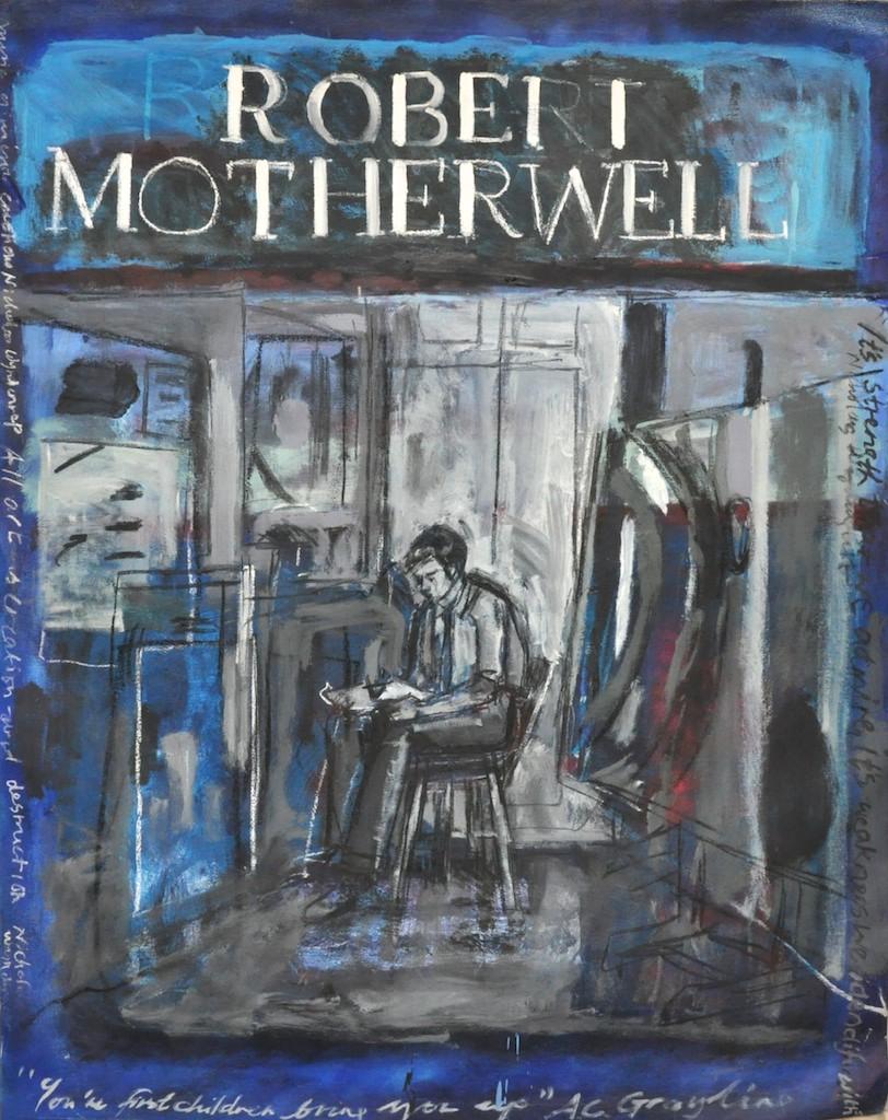 Motherwell  Oil on canvas  130 x 160