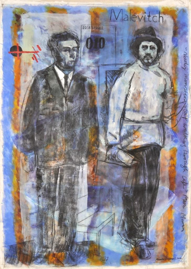 Malevitch  Oil on canvas  186 x 135 cm