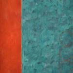 Cypher  Acrylic on canvas  251 x 141 cm