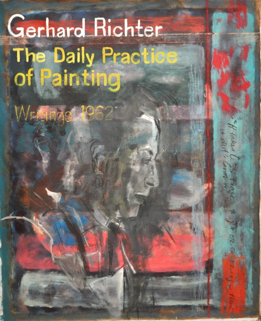 Writings  Oil on canvas  130 x 160 cm