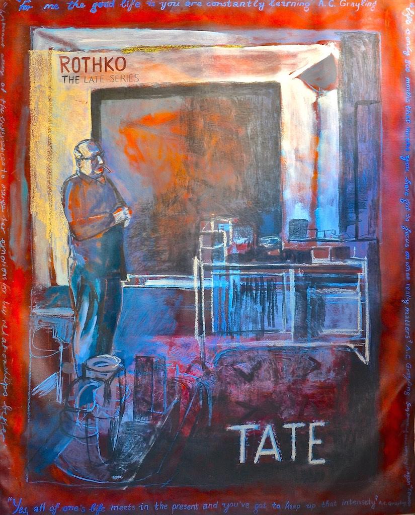 Mark Rothko  Oil on canvas  130 x 163 cm