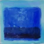 Phoebe Dingwall painting Blue dep