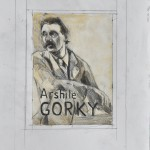 Phoebe Dingwall painting Gorky