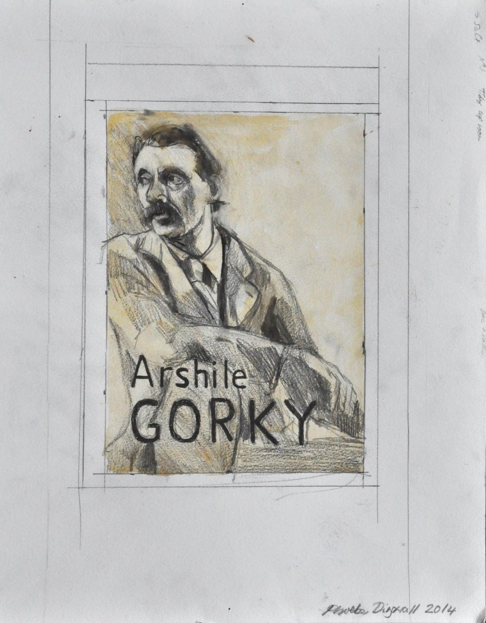 Phoebe Dingwall painting Gorky