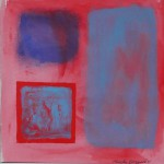Phoebe Dingwall painting Red contained