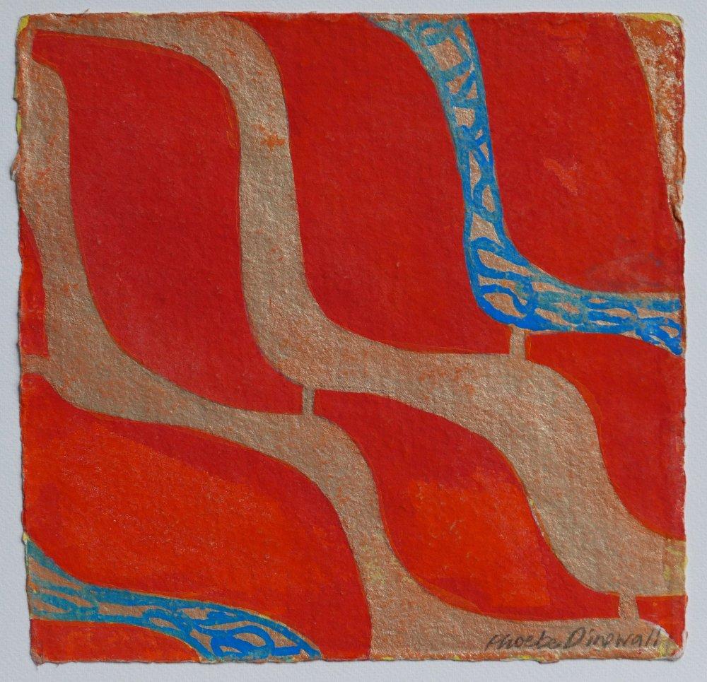 N°10 Watercolor on paper 25 x 25 cm