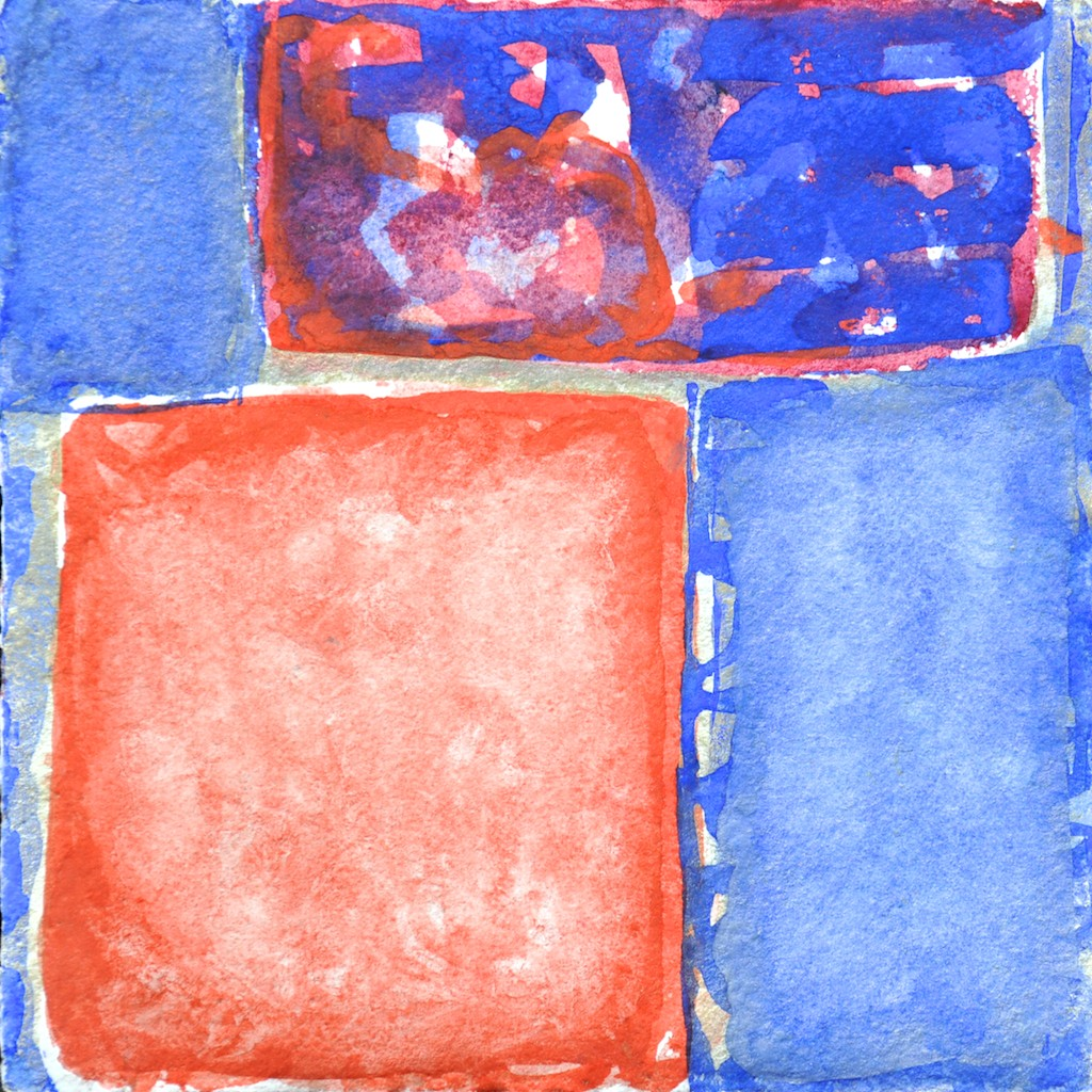 N°20 Watercolor on paper 25 x 25 cm