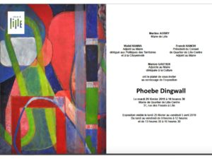 Phoebe Dingwall expo