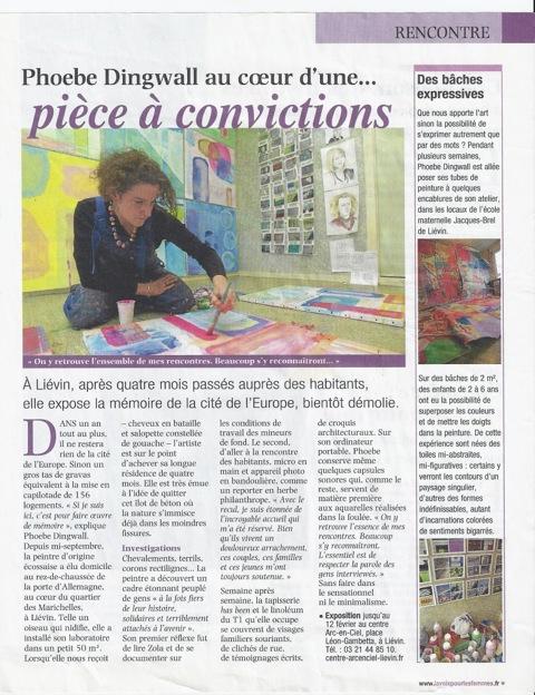 NEWSPAPER colysee Lievin 3