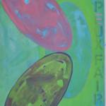 Je peux faire  Acrylic on canvas  150 x 100 cm