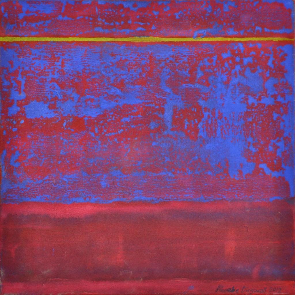 Franck 2  Acrylic on canvas  40 x 40 cm