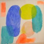 Overlap  Acrylic on canvas  150 x 150 cm