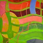 Loupe  Oil on canvas  80 x 87 cm
