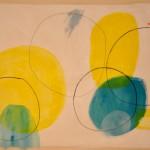 Don't think twice  Acrylic on canvas  127 x 200 cm