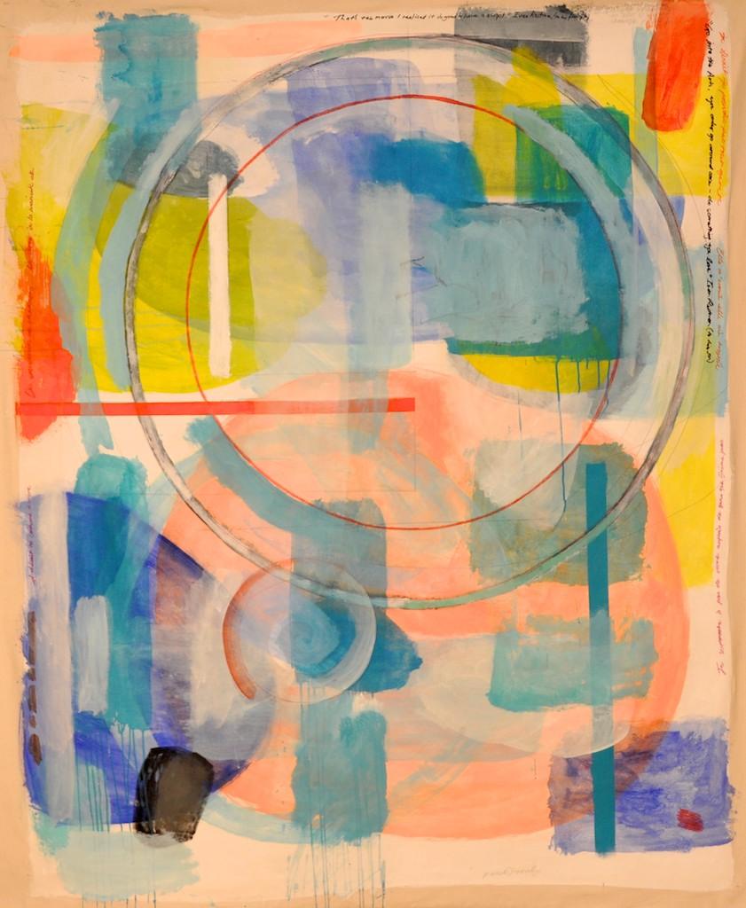 L'Arcouest  Acrylic on canvas  175 x 144 cm