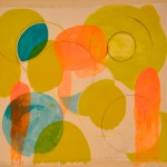 Grasse  Acrylic on canvas  129 x 145 cm
