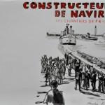 Les chantiers de France  Ink on paper  30 x 42 cm