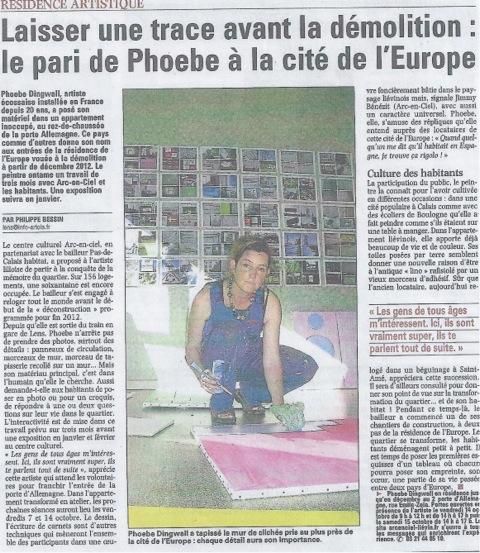 newspaper LIEVIN