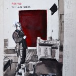 Rothko  Ink on paper  45 x 32 cm