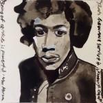 Empathy  Ink on paper  20 x 20 cm