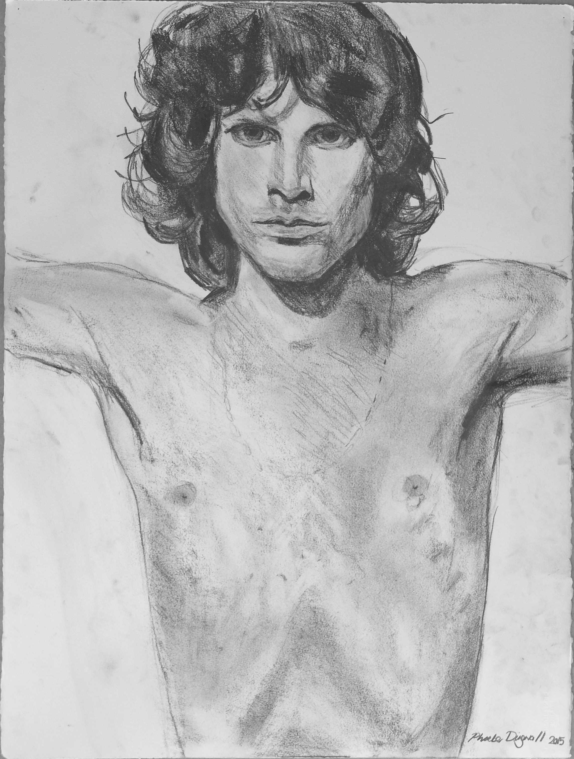 Jim  Pencil on paper  57 x 76 cm