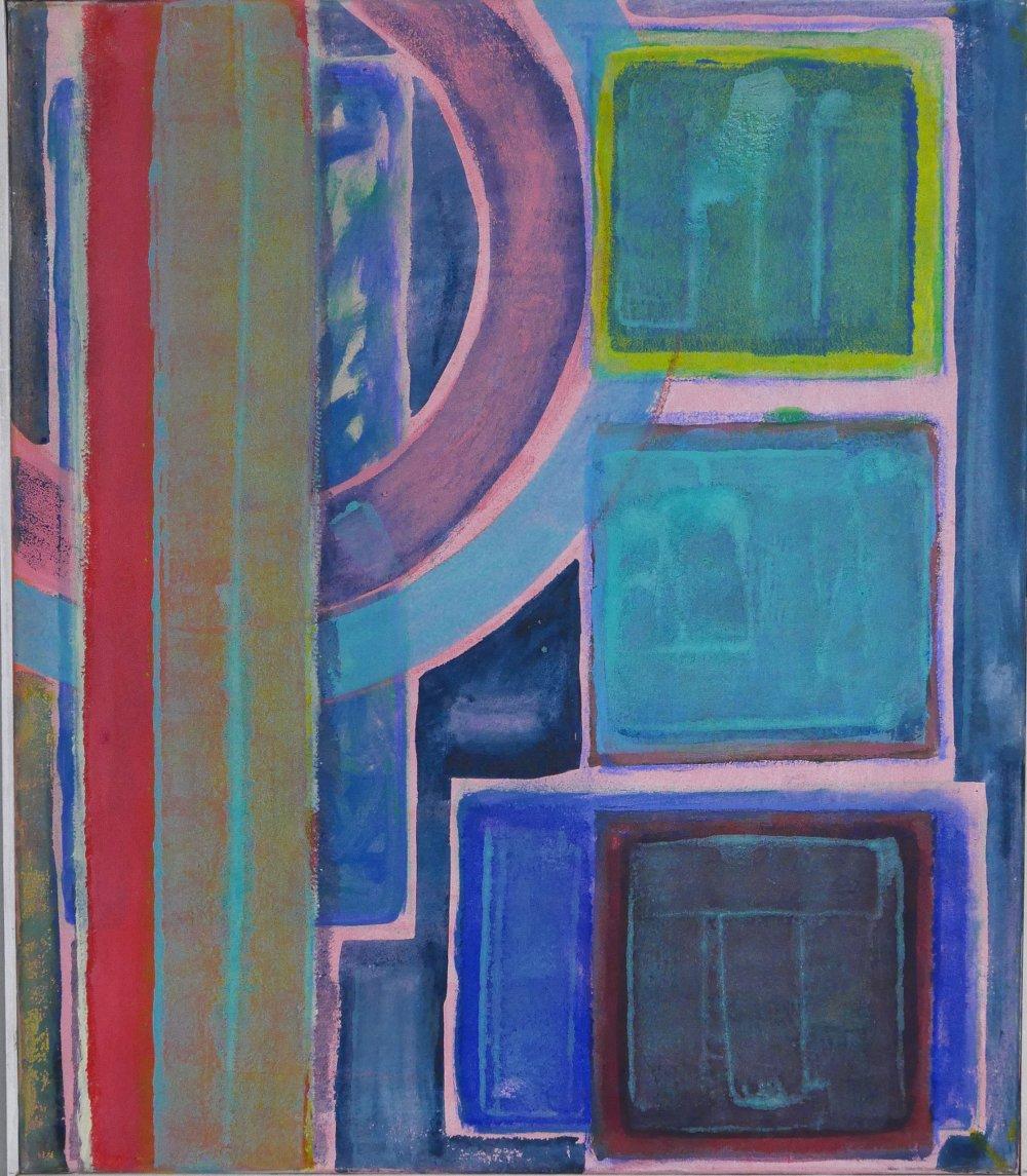 Phoebe Dingwall painting Jangle