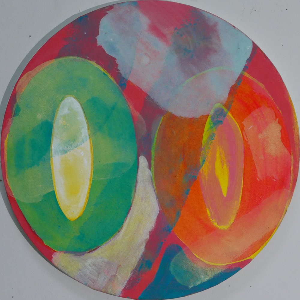 Phoebe Dingwall painting Repetition