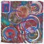 N°11 Watercolor on paper 25 x 25 cm