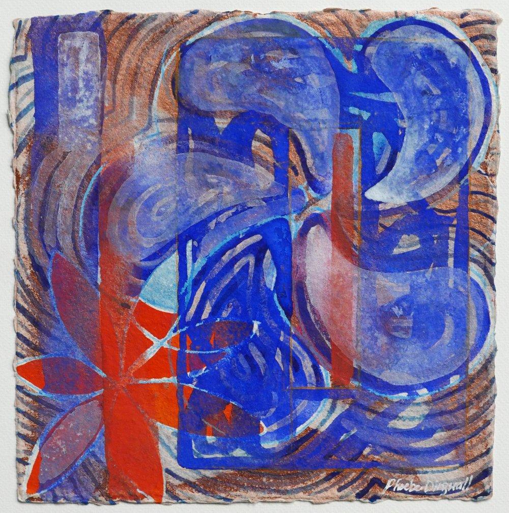 N°19 Watercolor on paper 25 x 25 cm