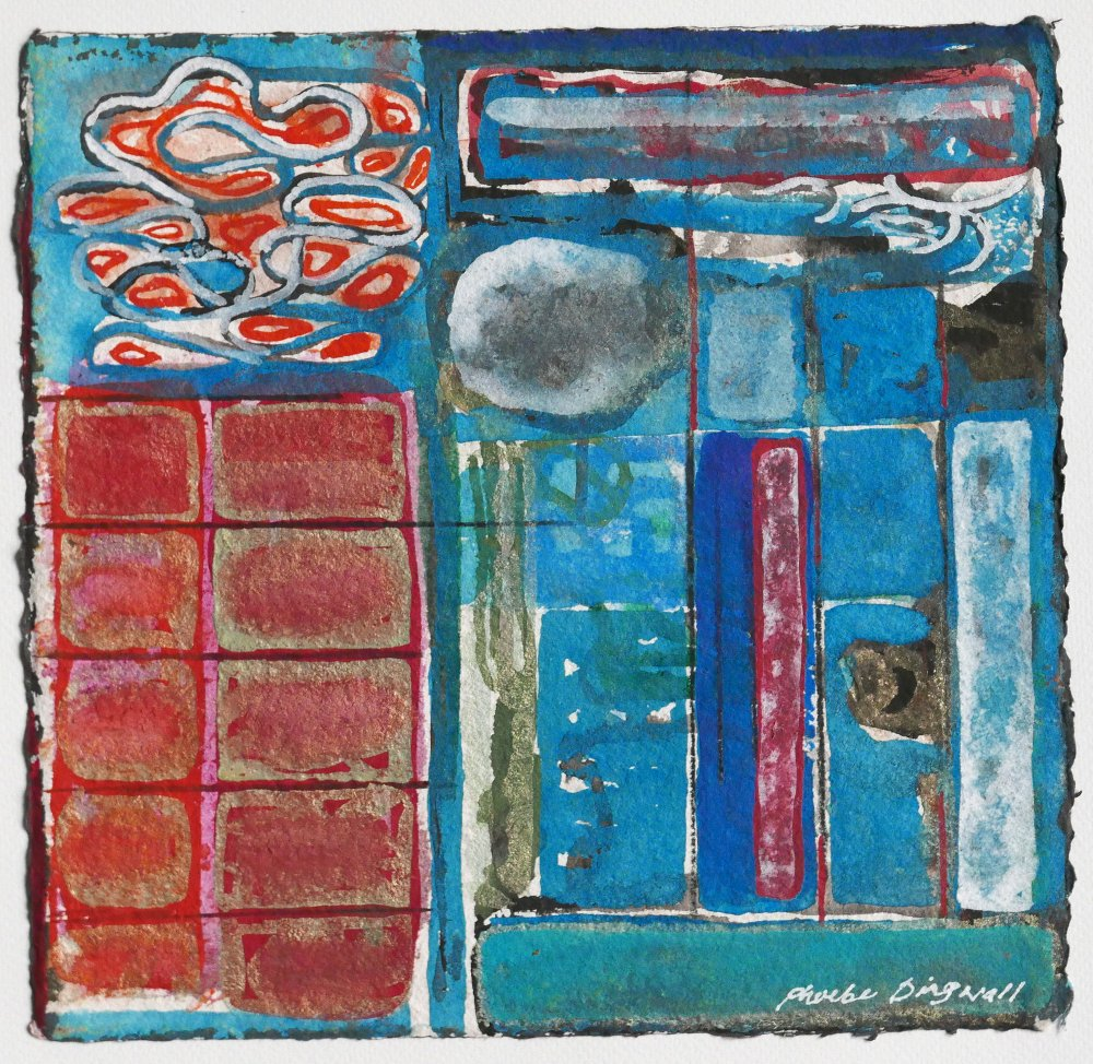N°2 Watercolor on paper 25 x 25 cm