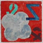 N°22 Watercolor on paper 25 x 25 cm