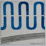 N°26 Watercolor on paper 25 x 25 cm