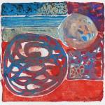 N°28 Watercolor on paper 25 x 25 cm