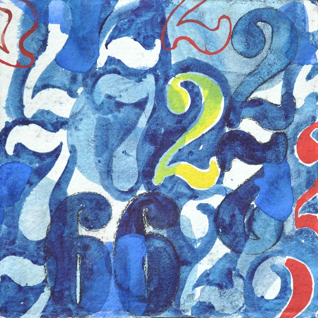 N°3 Watercolor on paper 25 x 25 cm