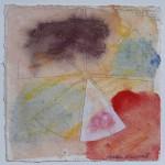 N°4 Watercolor on paper 25 x 25 cm