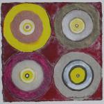 N°6 Watercolor on paper 25 x 25 cm