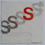N°8 Watercolor on paper 25 x 25 cm